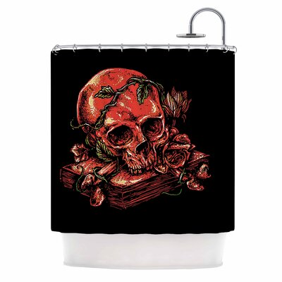 Dark History Fantasy Nature Shower Curtain