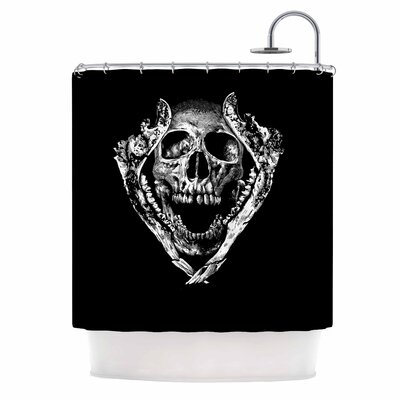 Jawz Digital Shower Curtain