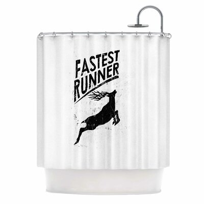 Fastest Runner Shower Curtain