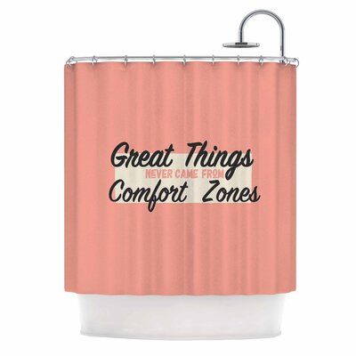 Great Things Digital Vintage Shower Curtain