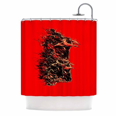 Bull Shower Curtain