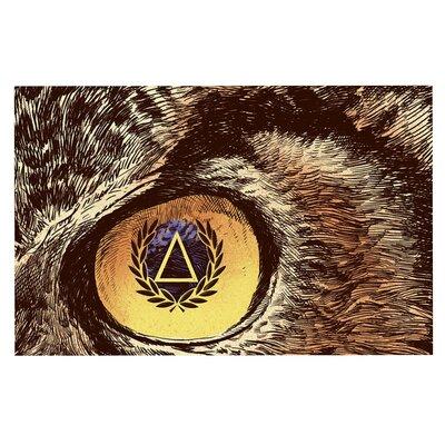 Sharp Eye Owl Decorative Doormat