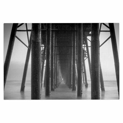 Vanishing Point Coastal Photography Decorative Doormat