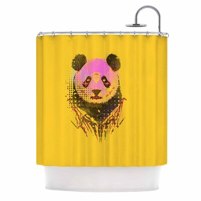 Dandy Panda Shower Curtain