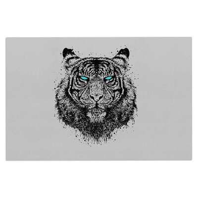 Tiger Gaze Doormat