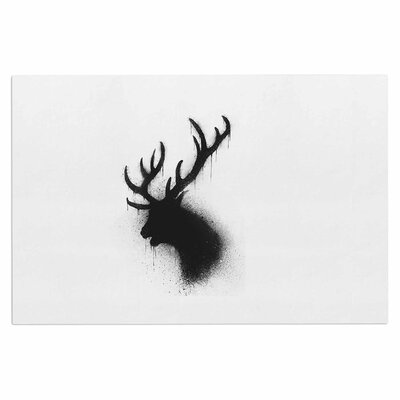 Dark Deer Doormat