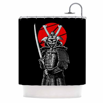 Samuraiz Digital Shower Curtain