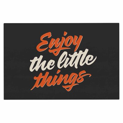Enjoy the Little Things Vintage Decorative Doormat