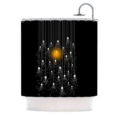 One Light Digital Shower Curtain