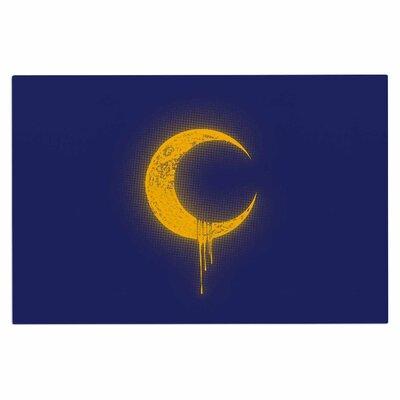 Melting Moon2 Doormat