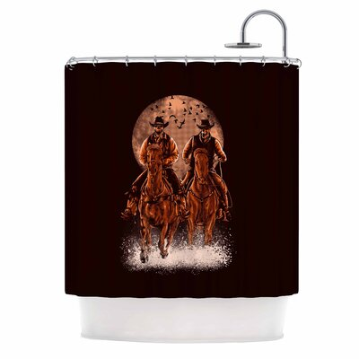 Come at Night Shower Curtain