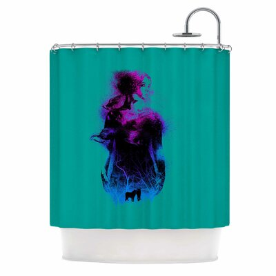 Forest Queen People Shower Curtain
