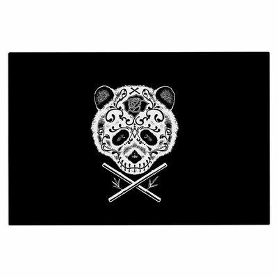 Panda De La Muerte Doormat