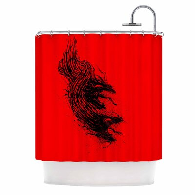 Came From Hell Digital Shower Curtain
