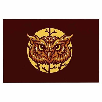 Head Owl Doormat