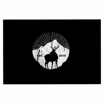 American Mountain Deer Doormat
