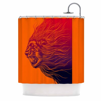 Furious+ Shower Curtain