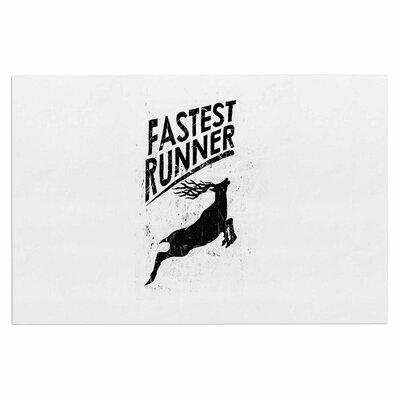 Fastest Runner Doormat