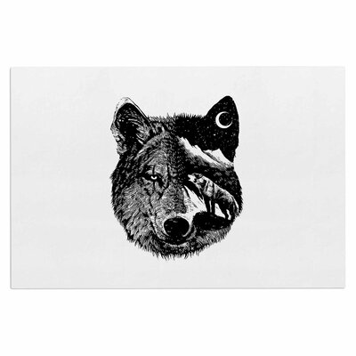 'Night Wolf' Doormat