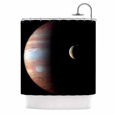'Jupiter' Shower Curtain