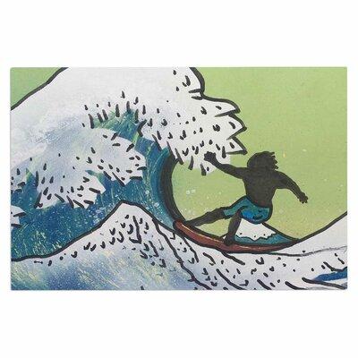 Hokusai Remake Doormat