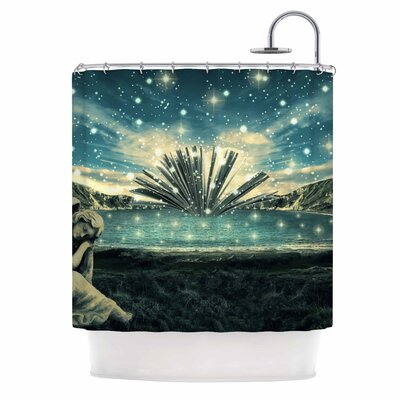 The Knowledge Keeper Fantasy Shower Curtain