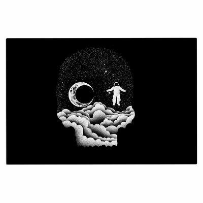 Space Skull Doormat