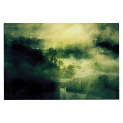 Dark Mystical Landscape Doormat