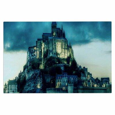 Haunted Castle Fantasy Decorative Doormat