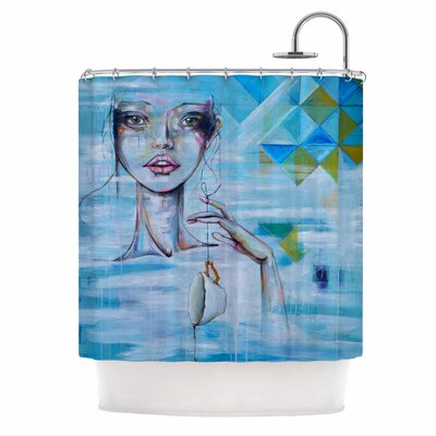 Alice People Painting Shower Curtain