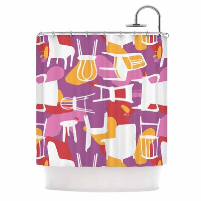 Chairs Shower Curtain