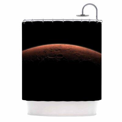 Martian Sunrise Nature Shower Curtain