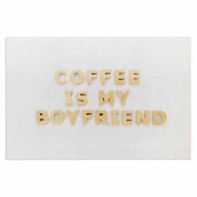 Coffee is My Boyfriend Doormat