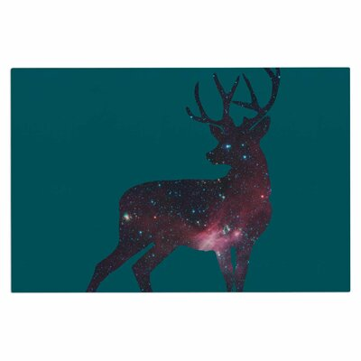 Deer in the Starlight Doormat