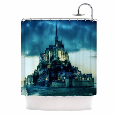 Haunted Castle Fantasy Shower Curtain