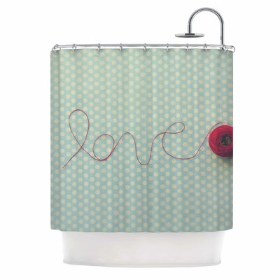 String of Love Photography Shower Curtain