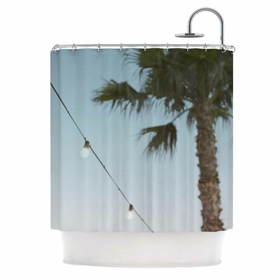 Summer Nights Coastal Shower Curtain