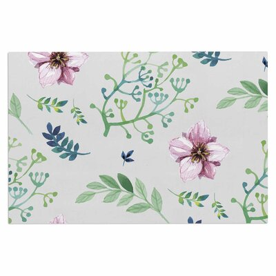 Summer Flower Pattern Doormat