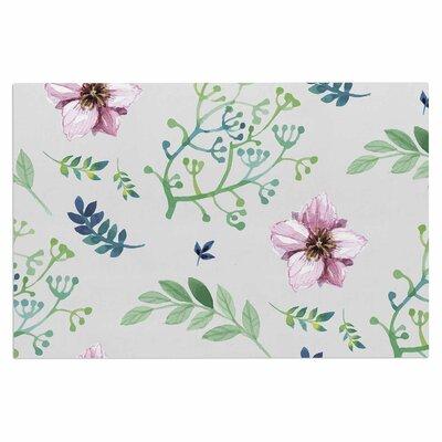 Summer Flower Pattern Doormat
