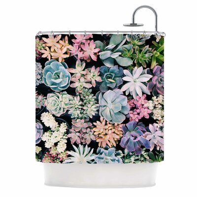 Succulent Gathering Photography Shower Curtain