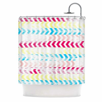 Arrow Art Deco Shower Curtain