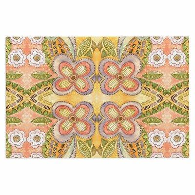 Ethnic Floral Doormat