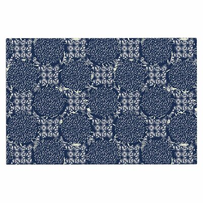 Indigo Lattice Doormat