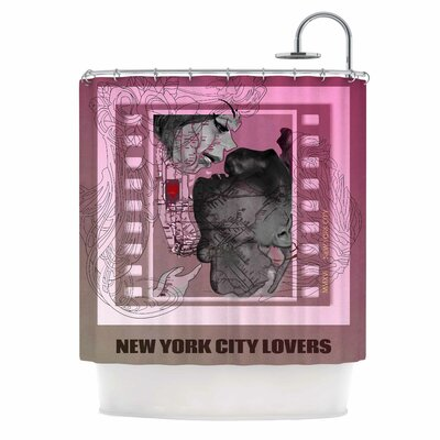 New York City Lovers Shower Curtain