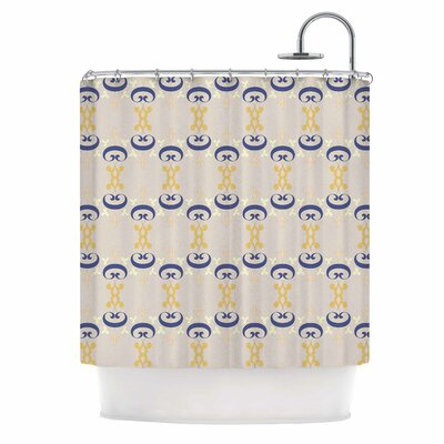 Ornament Pastel Shower Curtain