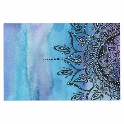 Blue Mandala Doormat