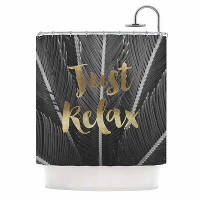 Just Relax Photography Shower Curtain