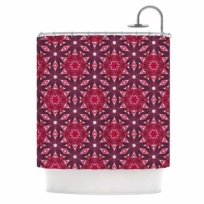 Blooming Echinacea Shower Curtain