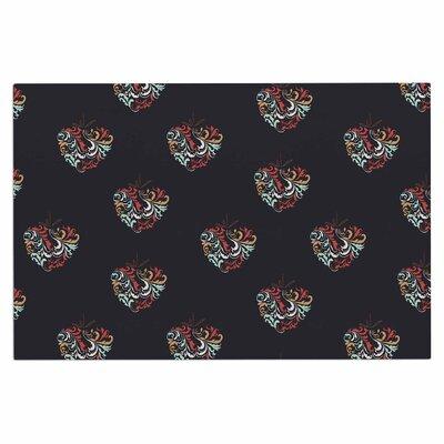 Ornament Heart Doormat