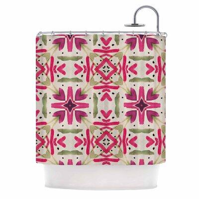 Echinacea Garden Shower Curtain